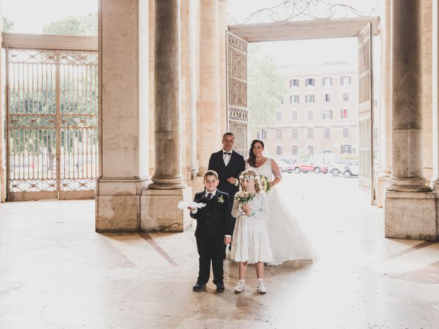 Il matrimonio di Emiliana e Emanuele a Roma, Roma 15