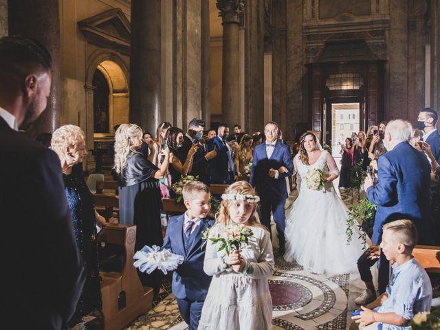 Il matrimonio di Emiliana e Emanuele a Roma, Roma 16