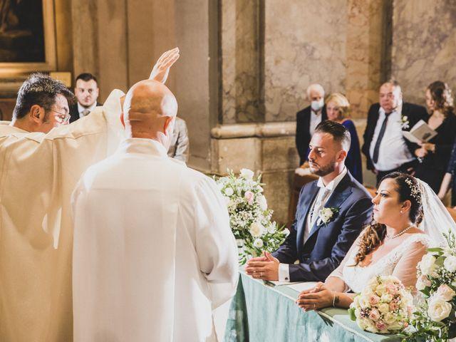 Il matrimonio di Emiliana e Emanuele a Roma, Roma 22
