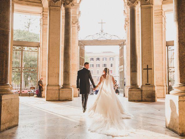 Il matrimonio di Emiliana e Emanuele a Roma, Roma 23