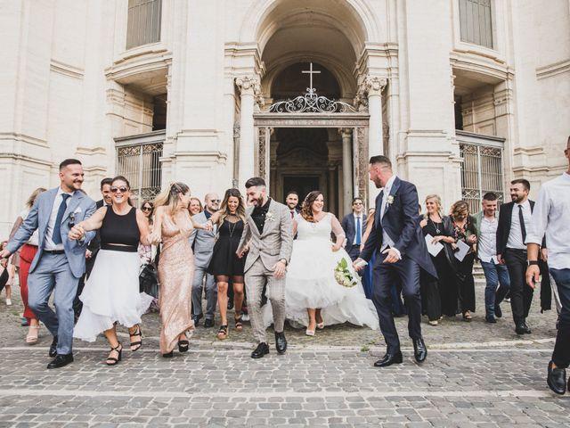 Il matrimonio di Emiliana e Emanuele a Roma, Roma 27
