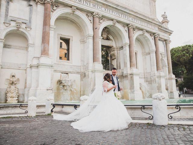 Il matrimonio di Emiliana e Emanuele a Roma, Roma 28