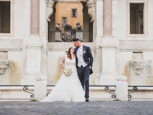 Il matrimonio di Emiliana e Emanuele a Roma, Roma 31