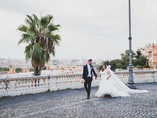 Il matrimonio di Emiliana e Emanuele a Roma, Roma 33