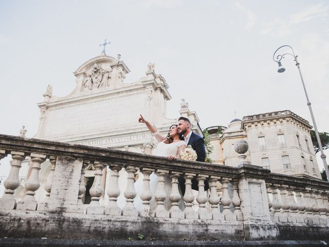 Il matrimonio di Emiliana e Emanuele a Roma, Roma 34