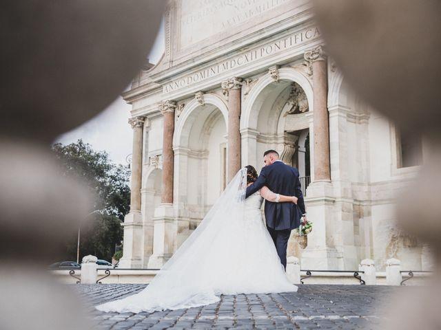 Il matrimonio di Emiliana e Emanuele a Roma, Roma 36