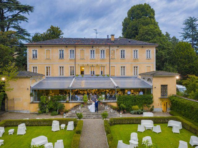 Il matrimonio di Filippo e Melania a Tradate, Varese 1