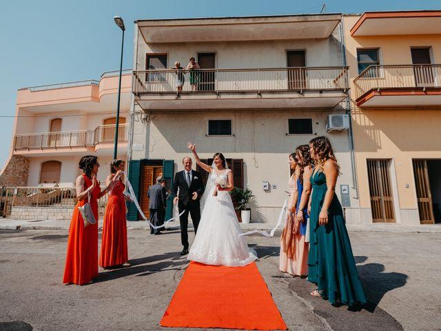 Il matrimonio di Sara e Cosimo a Martano, Lecce 32