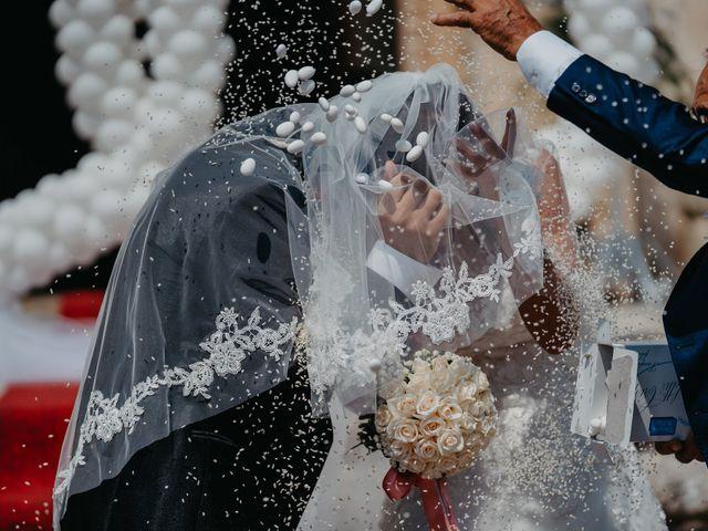 Il matrimonio di Sara e Cosimo a Martano, Lecce 50
