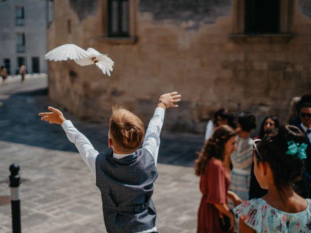 Il matrimonio di Sara e Cosimo a Martano, Lecce 53