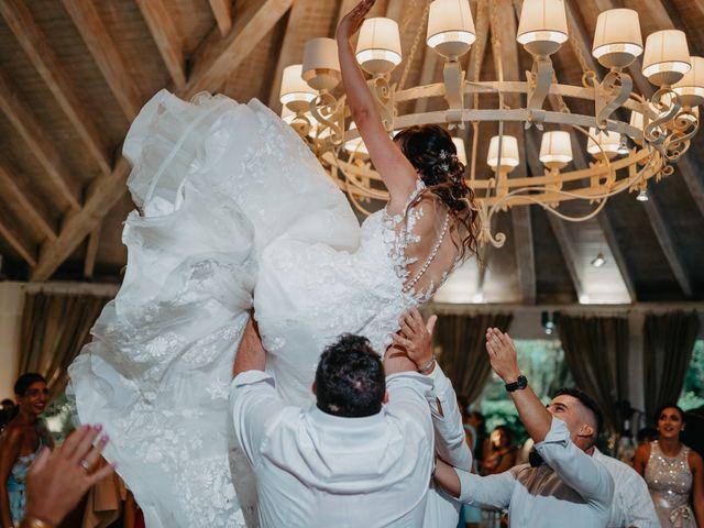 Il matrimonio di Sara e Cosimo a Martano, Lecce 87