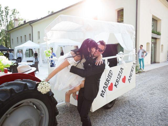 Il matrimonio di Andrea e Krizia a Santo Stino di Livenza, Venezia 60