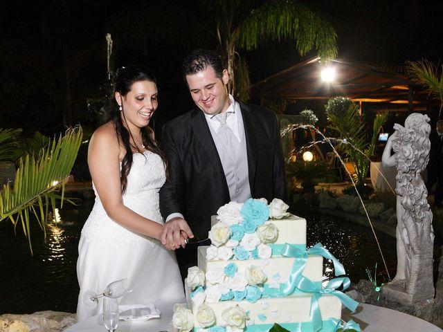 le nozze di Angela e Costantino
