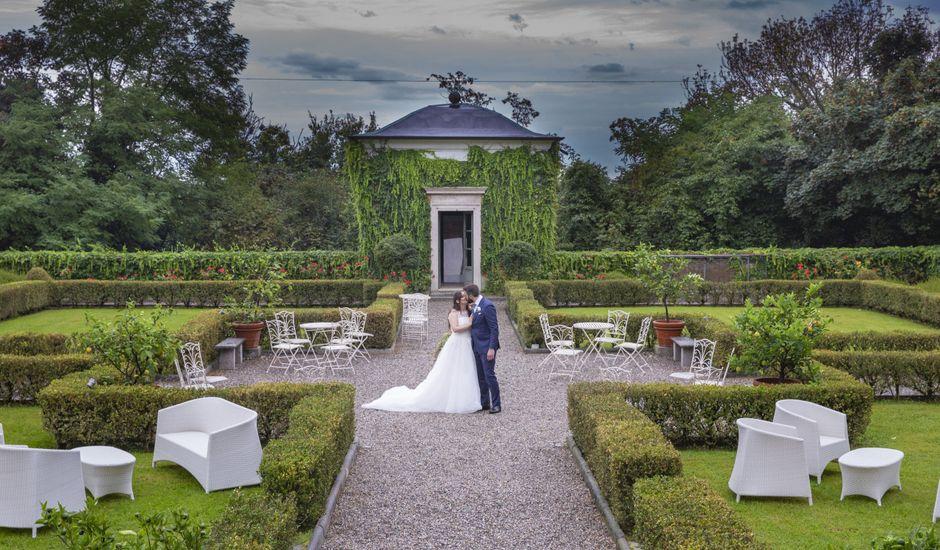 Il matrimonio di Filippo e Melania a Tradate, Varese