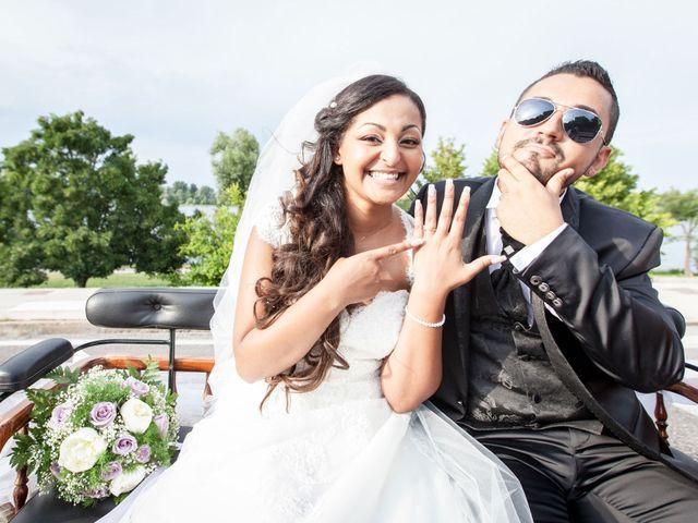 le nozze di Domenica e Gianluigi