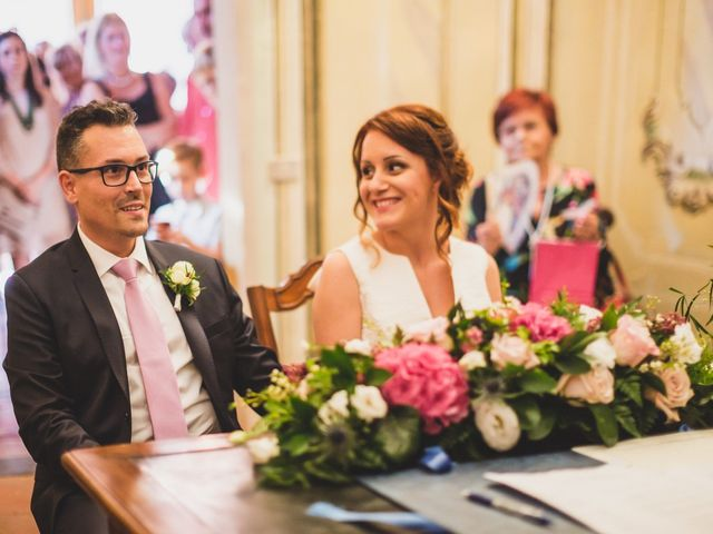 Il matrimonio di Massimo e Tatiana a Casteggio, Pavia 45