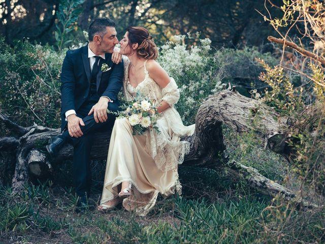 le nozze di Pina e Gian Mario
