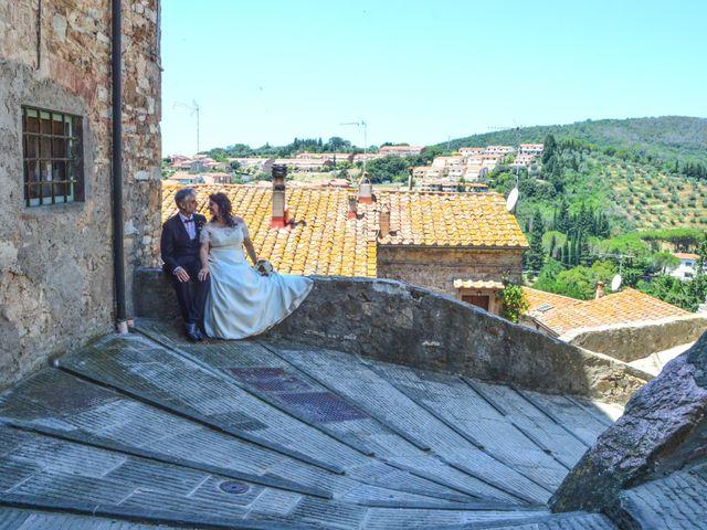 Il matrimonio di Daniele e Barbara a Campiglia Marittima, Livorno 23