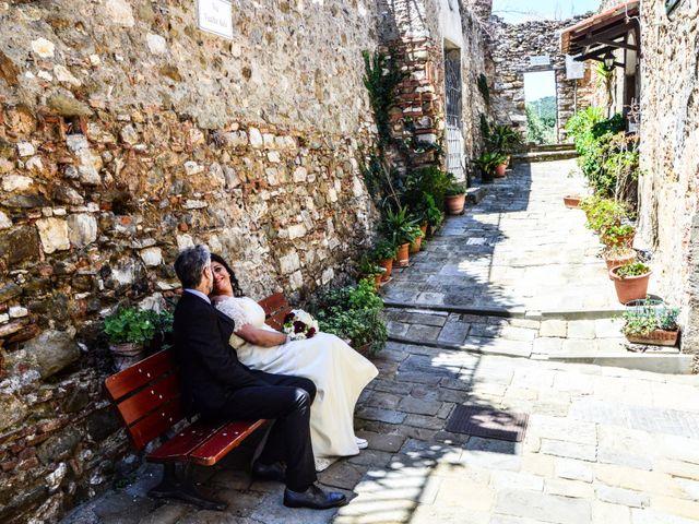 Il matrimonio di Daniele e Barbara a Campiglia Marittima, Livorno 2