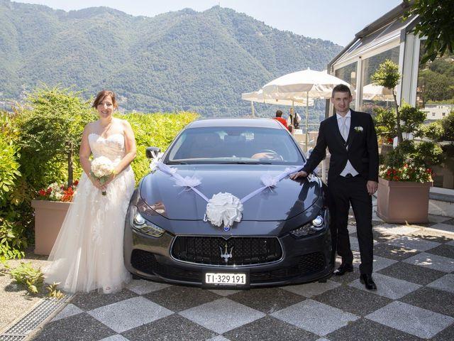 Il matrimonio di Andrea e Eleonora a San Fedele Intelvi, Como 11