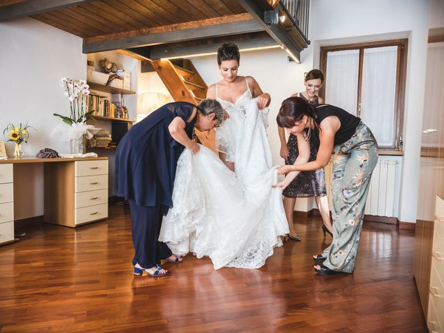 Il matrimonio di Marcello e Chiara a Mergozzo, Verbania 14