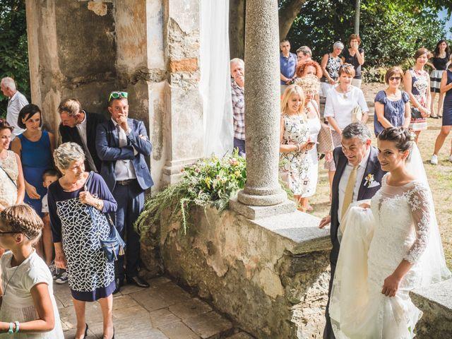 Il matrimonio di Marcello e Chiara a Mergozzo, Verbania 30