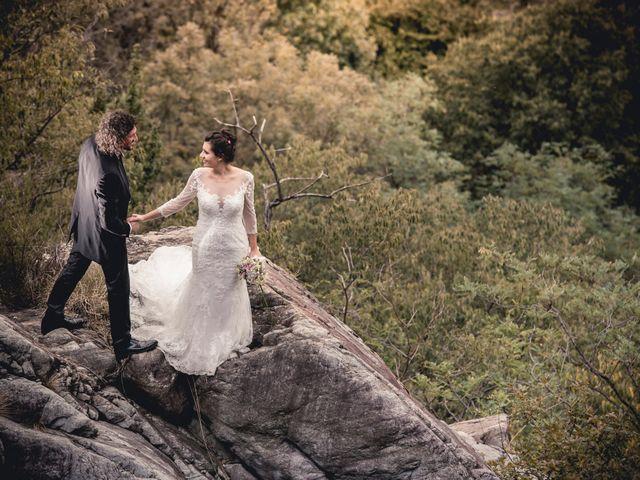 Il matrimonio di Marcello e Chiara a Mergozzo, Verbania 60