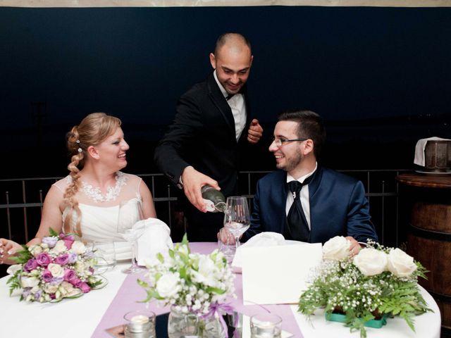 Matrimonio Civile Trevignano Romano : Reportage di nozze giorgia moreno ristorante il