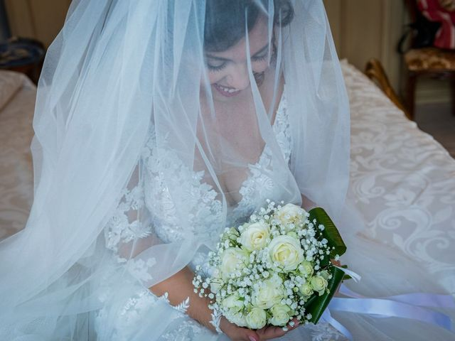 Il matrimonio di Emanuele e Emanuela a Angera, Varese 24