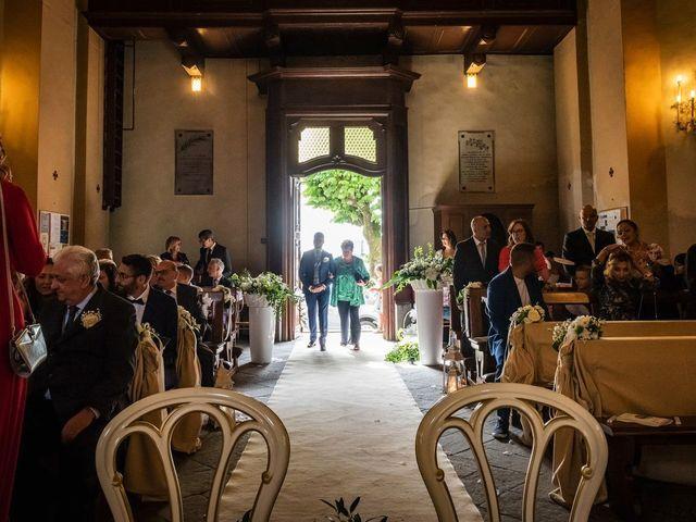 Il matrimonio di Emanuele e Emanuela a Angera, Varese 28