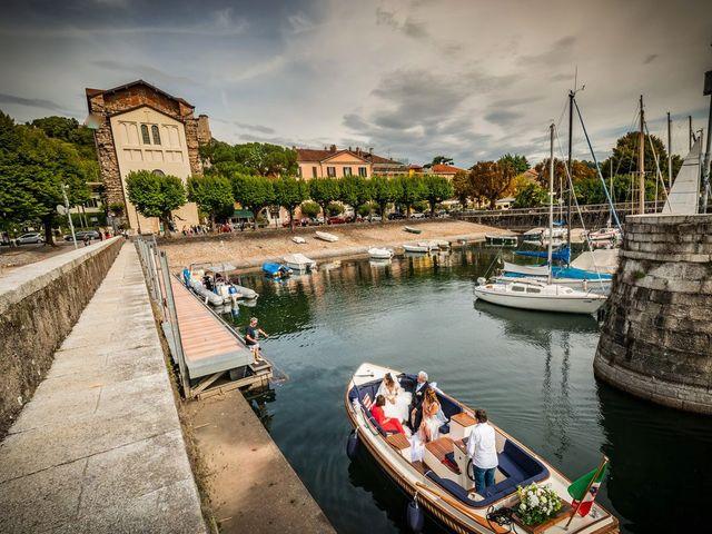 Il matrimonio di Emanuele e Emanuela a Angera, Varese 30