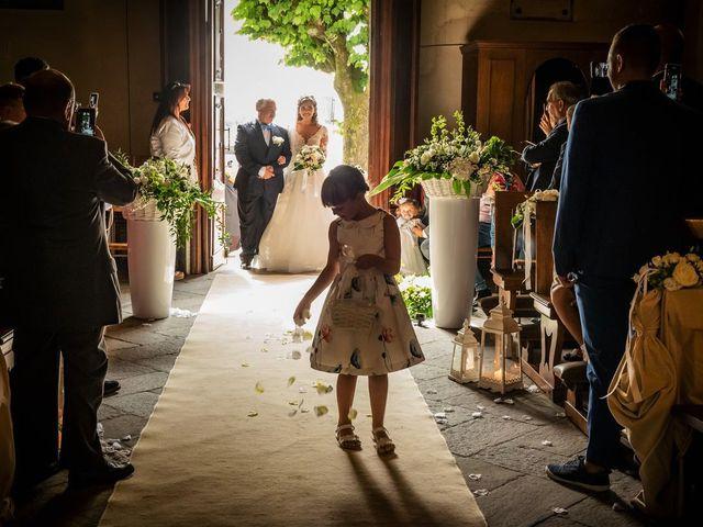 Il matrimonio di Emanuele e Emanuela a Angera, Varese 32