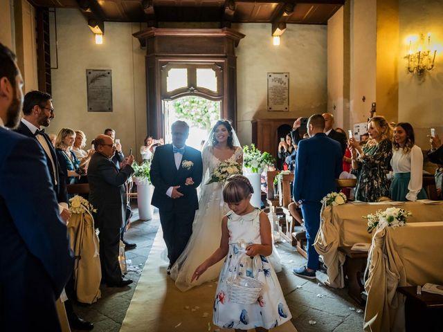 Il matrimonio di Emanuele e Emanuela a Angera, Varese 34