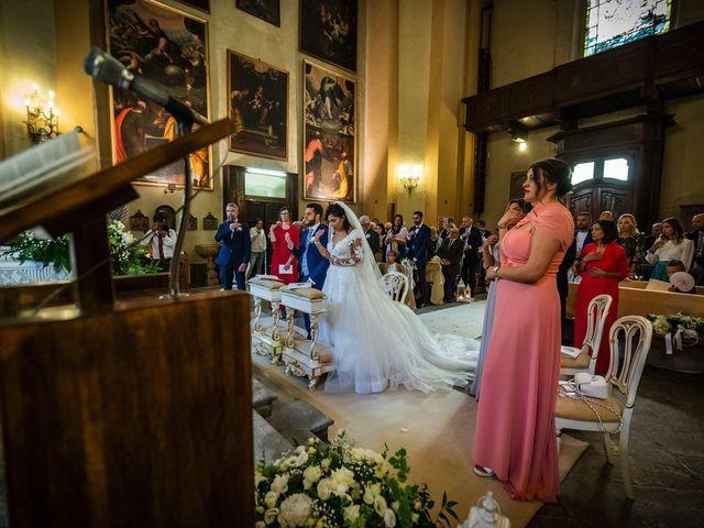 Il matrimonio di Emanuele e Emanuela a Angera, Varese 35