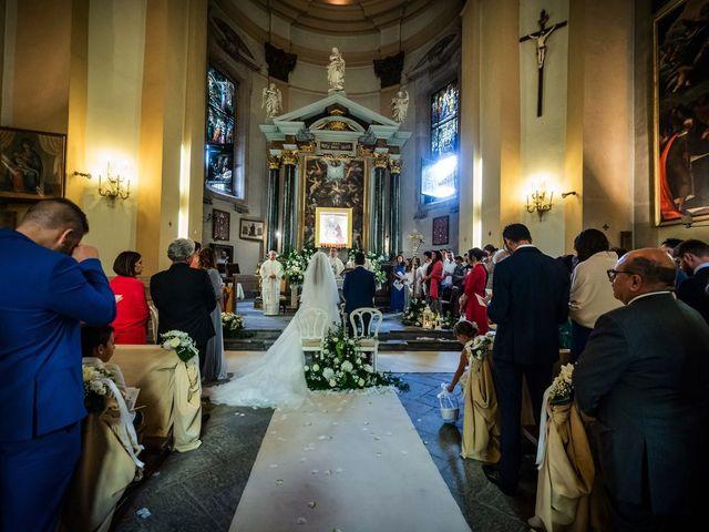 Il matrimonio di Emanuele e Emanuela a Angera, Varese 36
