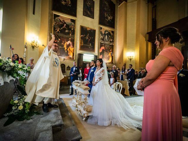 Il matrimonio di Emanuele e Emanuela a Angera, Varese 37