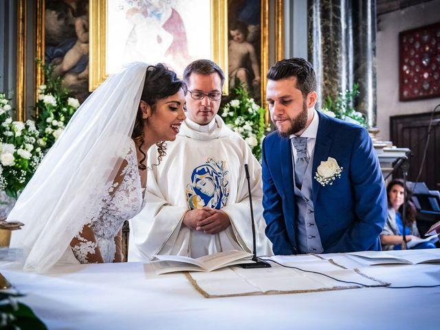 Il matrimonio di Emanuele e Emanuela a Angera, Varese 39