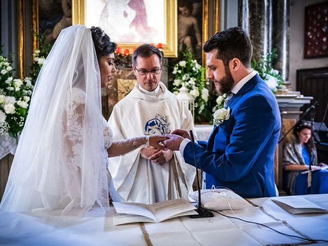 Il matrimonio di Emanuele e Emanuela a Angera, Varese 40