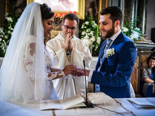 Il matrimonio di Emanuele e Emanuela a Angera, Varese 41