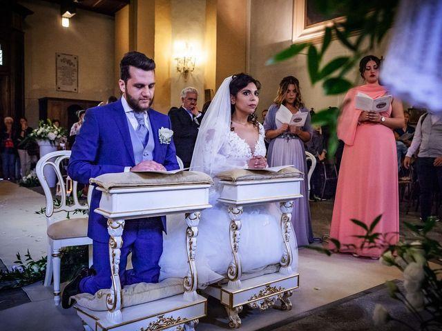 Il matrimonio di Emanuele e Emanuela a Angera, Varese 42