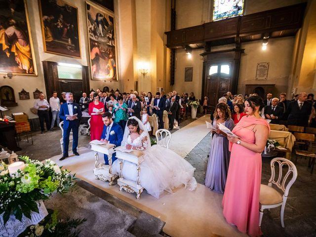Il matrimonio di Emanuele e Emanuela a Angera, Varese 43