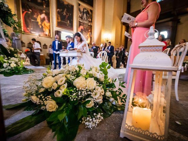 Il matrimonio di Emanuele e Emanuela a Angera, Varese 44