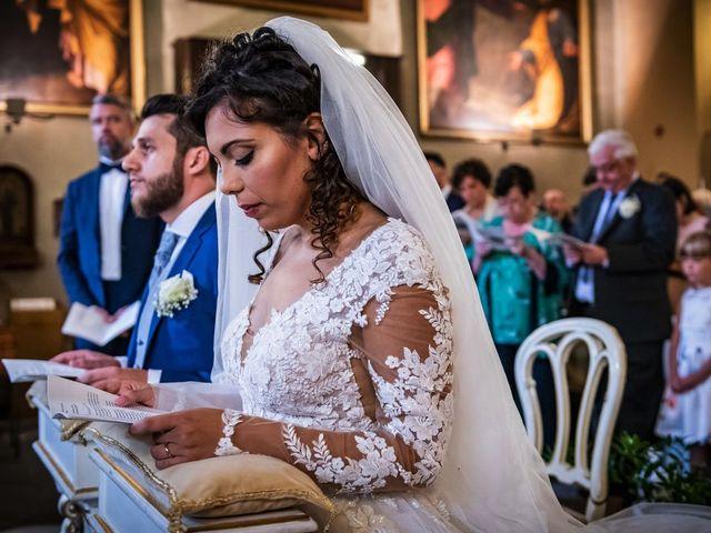 Il matrimonio di Emanuele e Emanuela a Angera, Varese 45