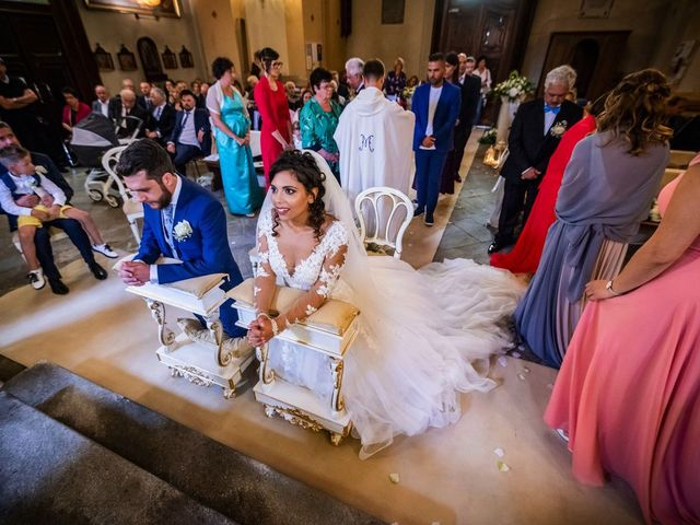 Il matrimonio di Emanuele e Emanuela a Angera, Varese 49