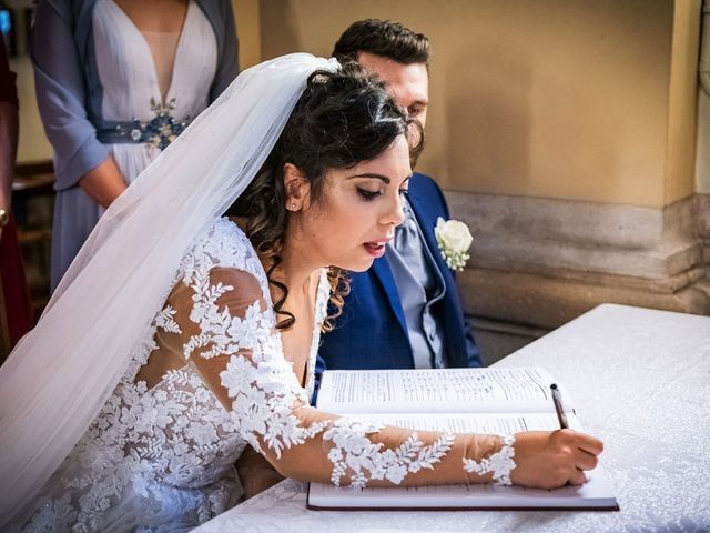 Il matrimonio di Emanuele e Emanuela a Angera, Varese 50