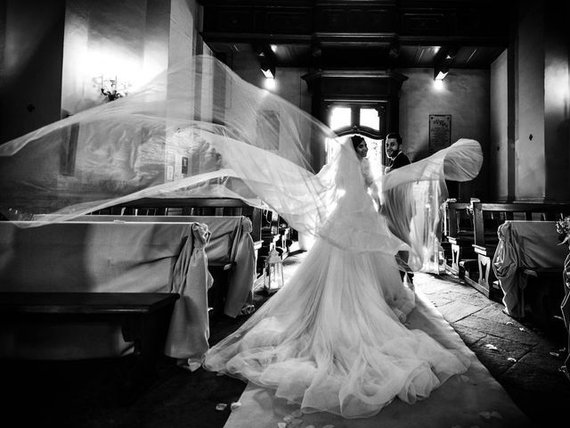 Il matrimonio di Emanuele e Emanuela a Angera, Varese 52