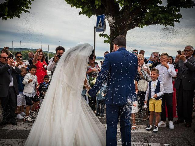Il matrimonio di Emanuele e Emanuela a Angera, Varese 53