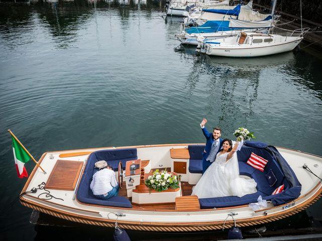 Il matrimonio di Emanuele e Emanuela a Angera, Varese 55