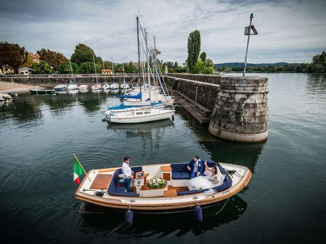 Il matrimonio di Emanuele e Emanuela a Angera, Varese 56