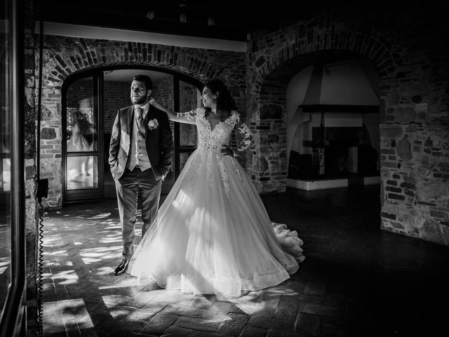 Il matrimonio di Emanuele e Emanuela a Angera, Varese 67